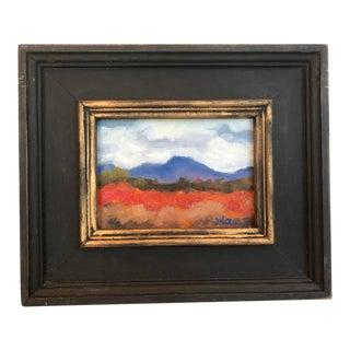 """Diablo Fall"" Contemporary Plein Air Oil Painting For Sale"