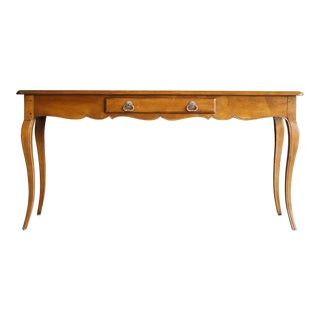 20th Century French Country Henredon Pierre Deux Console Table For Sale