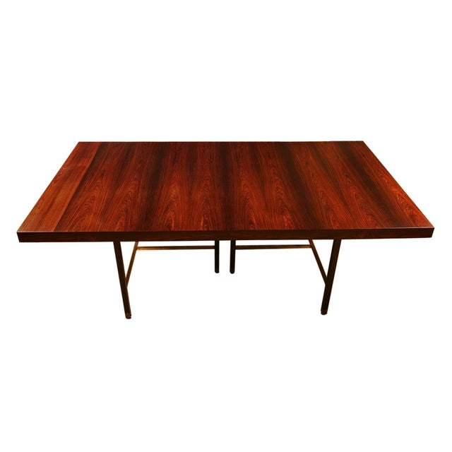 Harvey Probber Brazilian Rosewood Dining Table - Image 1 of 9