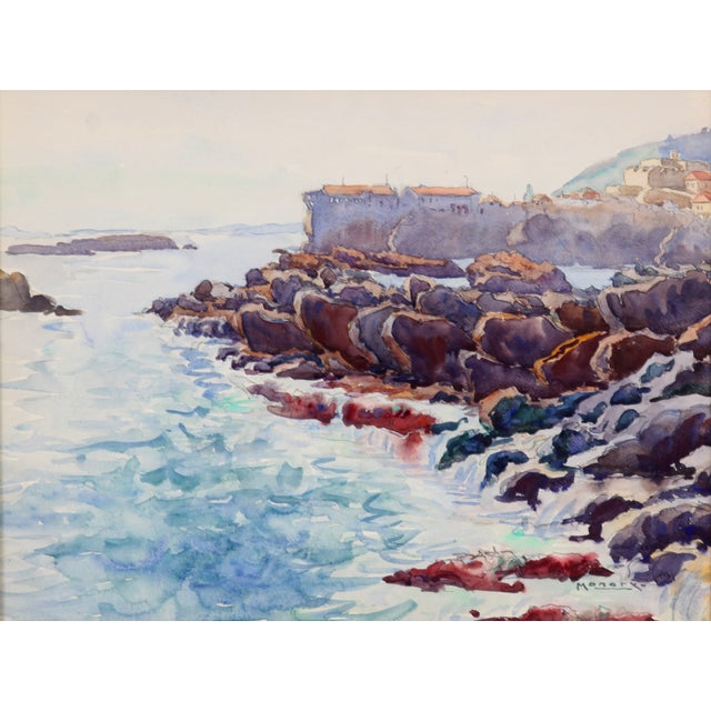 Monory The Coast of France Painting - Image 2 of 5