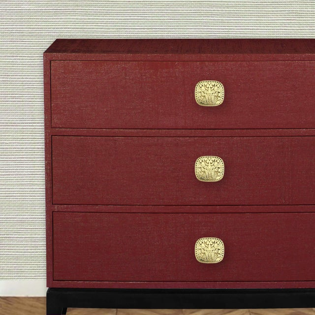 Not Yet Made - Made To Order Addison Weeks Michelle Nussbaumer Maya Pull, Brass For Sale - Image 5 of 5