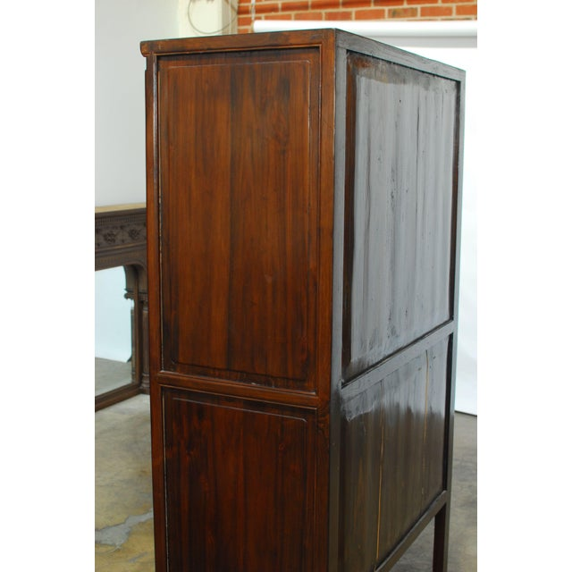 Chinese kitchen cabinet armoire chairish for Chinese kitchen cabinets