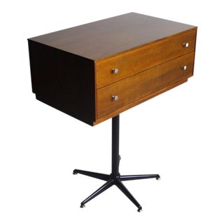 1960s Mid-Century Modern George Nelson – Herman Miller Thin Edge Drawer on Stand For Sale