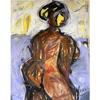 Figurative Painting, Rooted by Anne Darby Parker For Sale
