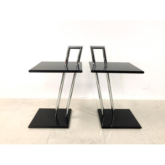 Vintage Eileen Gray Occasional Table - Pair - Image 5 of 7