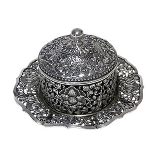 1937 Coin Silver Victorian Condiment Pot