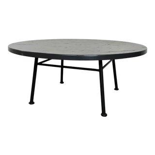 1960s Mid-Century Modern Woodard Outdoor Coffee Table For Sale