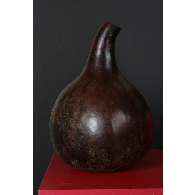 A Pair of African Gourds For Sale - Image 4 of 6