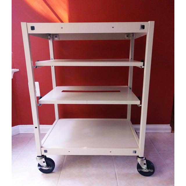 Vintage Multi-Function Metal Cart - Image 3 of 10