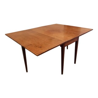 Mid-Century Modern Cherry Dining/Console Table