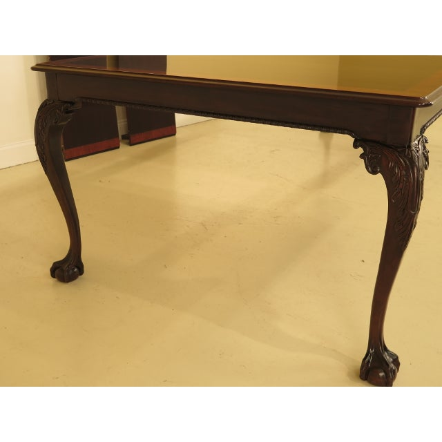 Stickley Ball & Claw Mahogany Dining Room Table