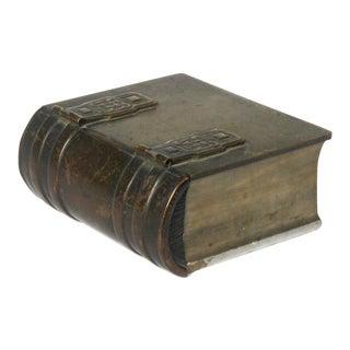Celtic Bronze & Marble Book Box