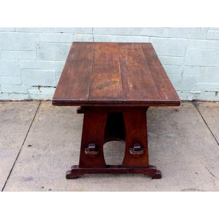 1920s Oak Mission Style Table Preview