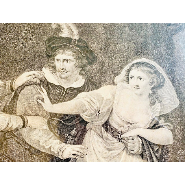 """Late 18th Century 18th Century English Engraving From Shakespeare's """"Two Gentlemen of Verona"""" For Sale - Image 5 of 13"""