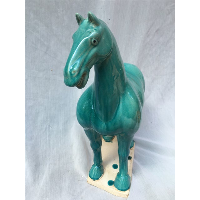 Chinese Tang Style Turquoise Horse - Image 6 of 6