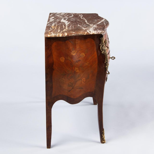 French Louis XV Style Two-Drawer Commode - Image 10 of 10