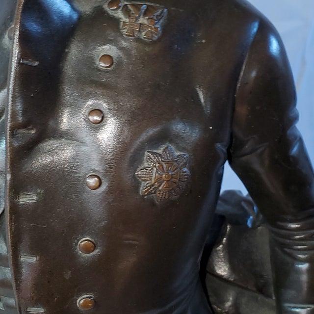 Bronze Franz Hogler, German Sculptor, Bronze Statue, Signed 1851 For Sale - Image 8 of 10