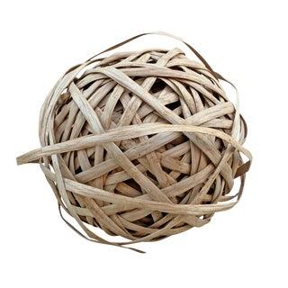 Oak Splint Sphere Sculpture For Sale