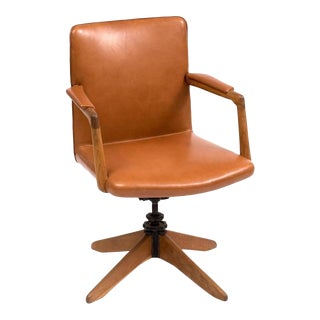 Early Desk Chair Model A721 by Hans Wegner, 1940s For Sale