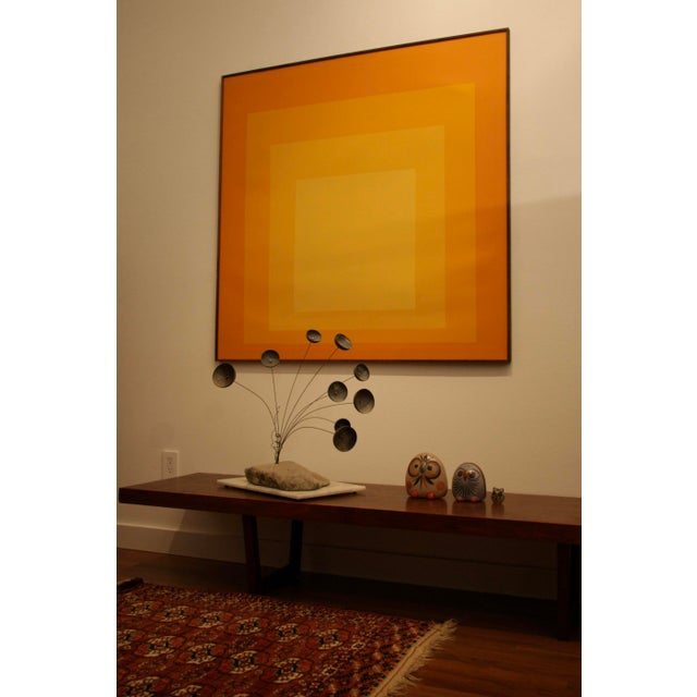 Raymor Tom Tru Serigraph for Raymor as Homage to Josef Albers For Sale - Image 4 of 6