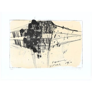 """Pair of """"Lithographs in Colors"""" by Friedrich Richard Falko Behrendt, '09 For Sale"""