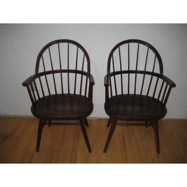 Mid-Century Boling Chairs - Set of 7 For Sale - Image 7 of 8
