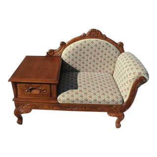 French Style Telephone Bench For Sale