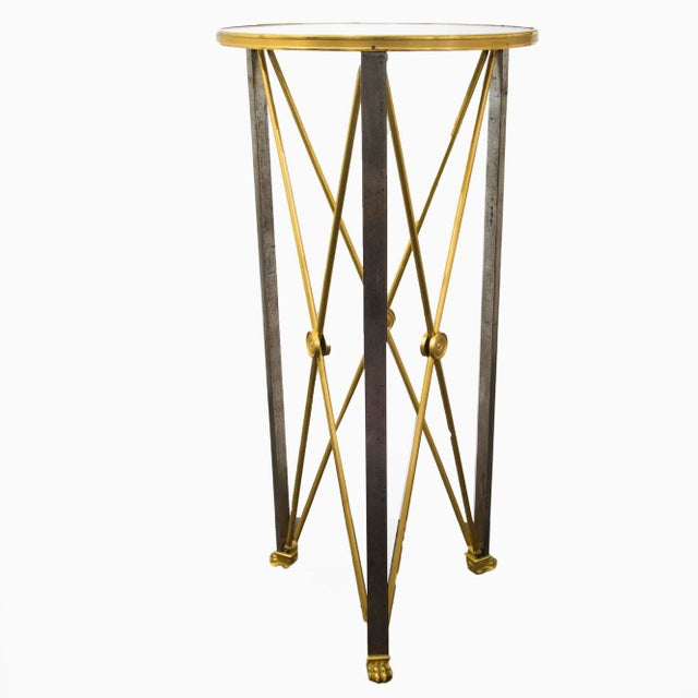1960s Brass Stand in Empire Style by Maison Jansen - Circa 1960's For Sale - Image 5 of 5