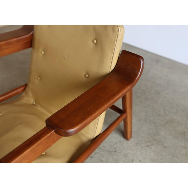 """Mid 20th Century MId Century Tove & Edvard Kindt Larsen """"Fireplace"""" Chair For Sale - Image 5 of 8"""