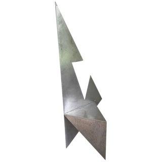 Cut Steel Architectural Chair