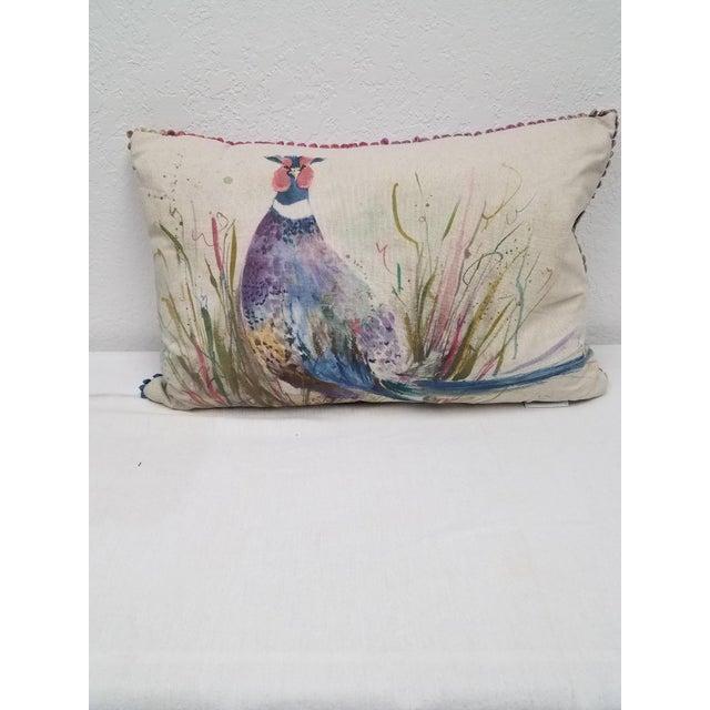Game Bird Lumbar Pillow For Sale - Image 13 of 13