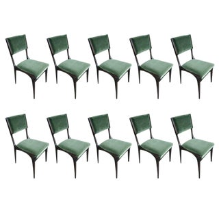 Carlo de Carli Chairs-Set of 10 For Sale
