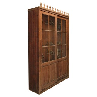French Tack Cabinet or Potential Bookcase For Sale