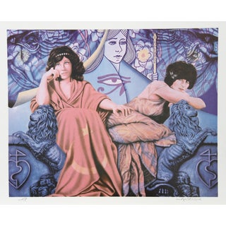 Robert Anderson, Judgement of the Moon & Stars, Lithograph For Sale