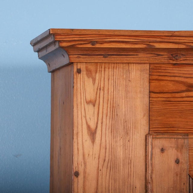 19th Century Antique Swedish Pine Corner Cabinet For Sale - Image 4 of 10