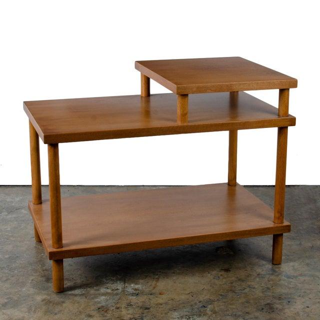 Wood t.h. Robsjohn-Gibbings for Widdicomb Step Side Table For Sale - Image 7 of 11