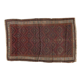 """Antique Belouch Rug - 2'5"""" X 3'9"""" For Sale"""