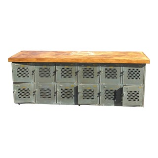 Vintage Storage Lockers For Sale