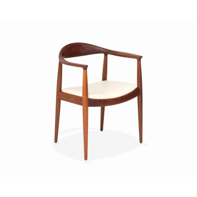 """Here is a beautiful vintage example of Hans Wegner's JH 503 produced by Johannes Hansen, otherwise known as """"The Chair"""" or..."""