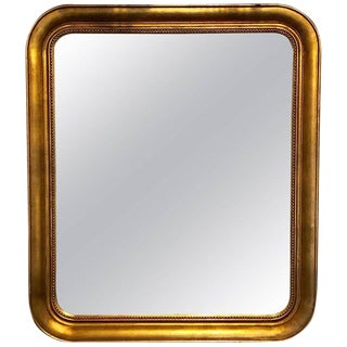 Louis Phillipe Style Giltwood Squircle Mirror