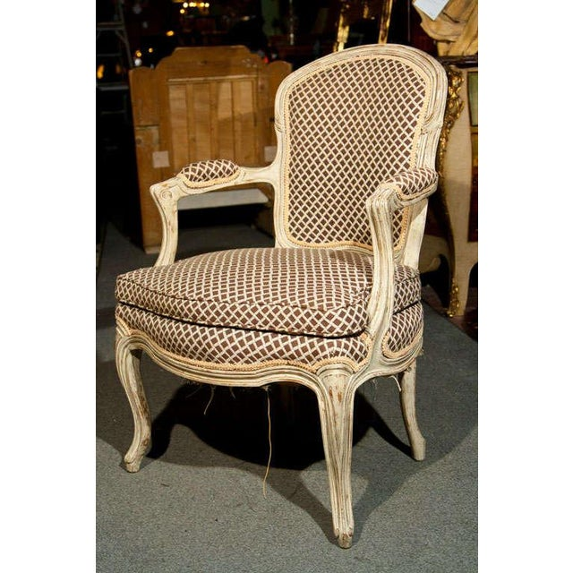 French Louis XIV Style Fauteuils - Pair - Image 3 of 8