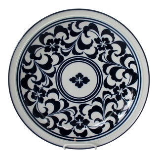 Dansk Porcelain Wall Plate For Sale