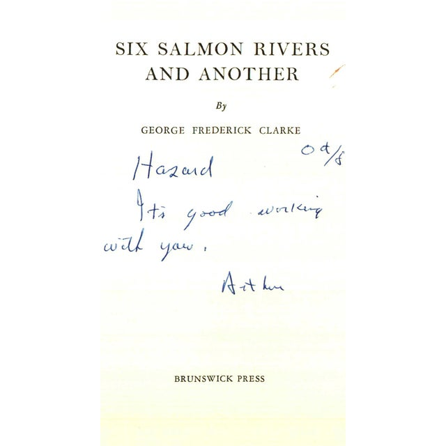 """Booth & Williams 1977 """"Six Salmon Rivers and Another"""" Collectible Book For Sale - Image 4 of 7"""