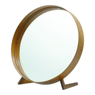 1960's Vintage Uno & Östen Kristiansson Teak Table Mirror For Sale