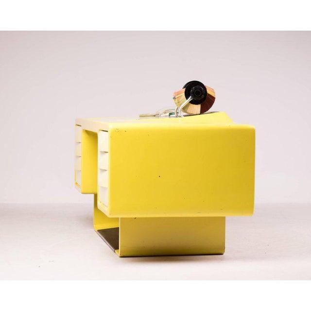 Ernest IGL Ernest Igl Design Fiberglass Directors Desk by Wilhelm Werndl For Sale - Image 4 of 10