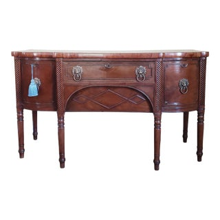 Mid 19th Century English Regency Mahogany Sideboard For Sale