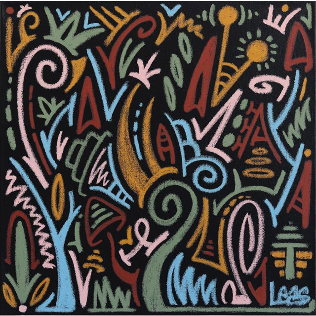"""""""The Jungle Awakens"""" Original Artwork on Canvas by Ilan Leas For Sale - Image 10 of 10"""