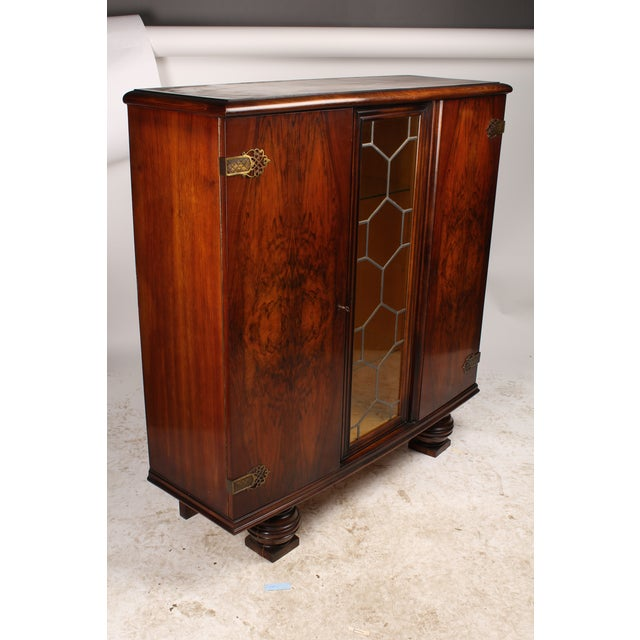 1930s French Deco Vitrine Cabinet - Image 6 of 7