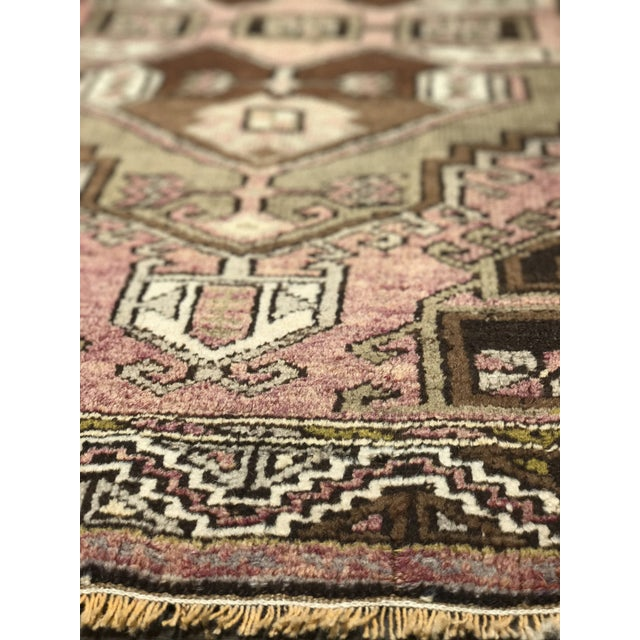 """Bellwether Rugs Distressed Look Vintage Turkish Oushak - 2'11""""x4'7"""" - Image 9 of 11"""
