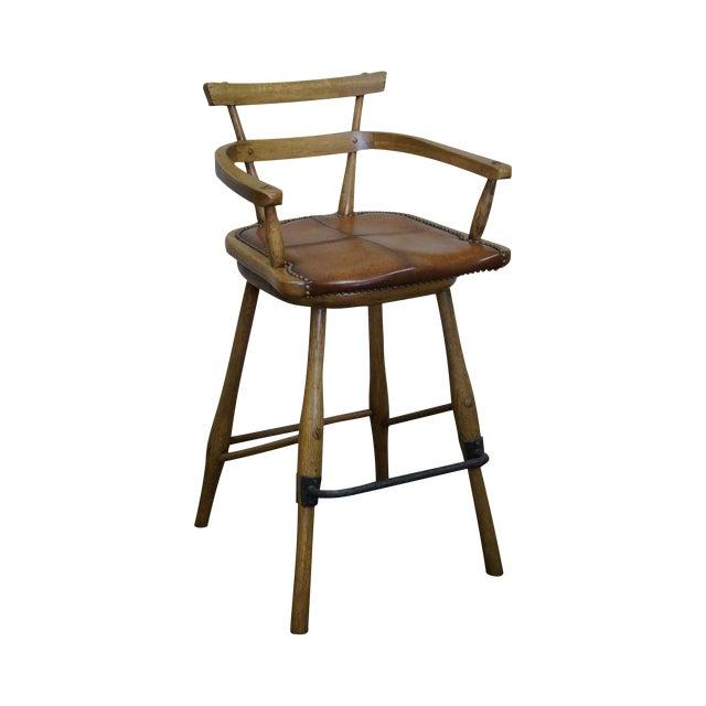 Jonathan Charles Architect's Arm Chair - Image 1 of 10